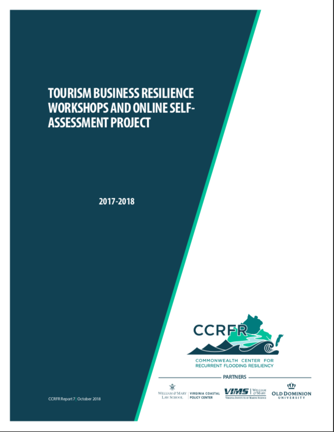 Tourism Business Workshops and Online Self-Assessment Project