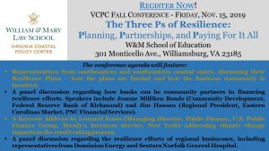 VCPC's 7th Annual Conference - The Three P's of Resilience @ School of Education: William & Mary