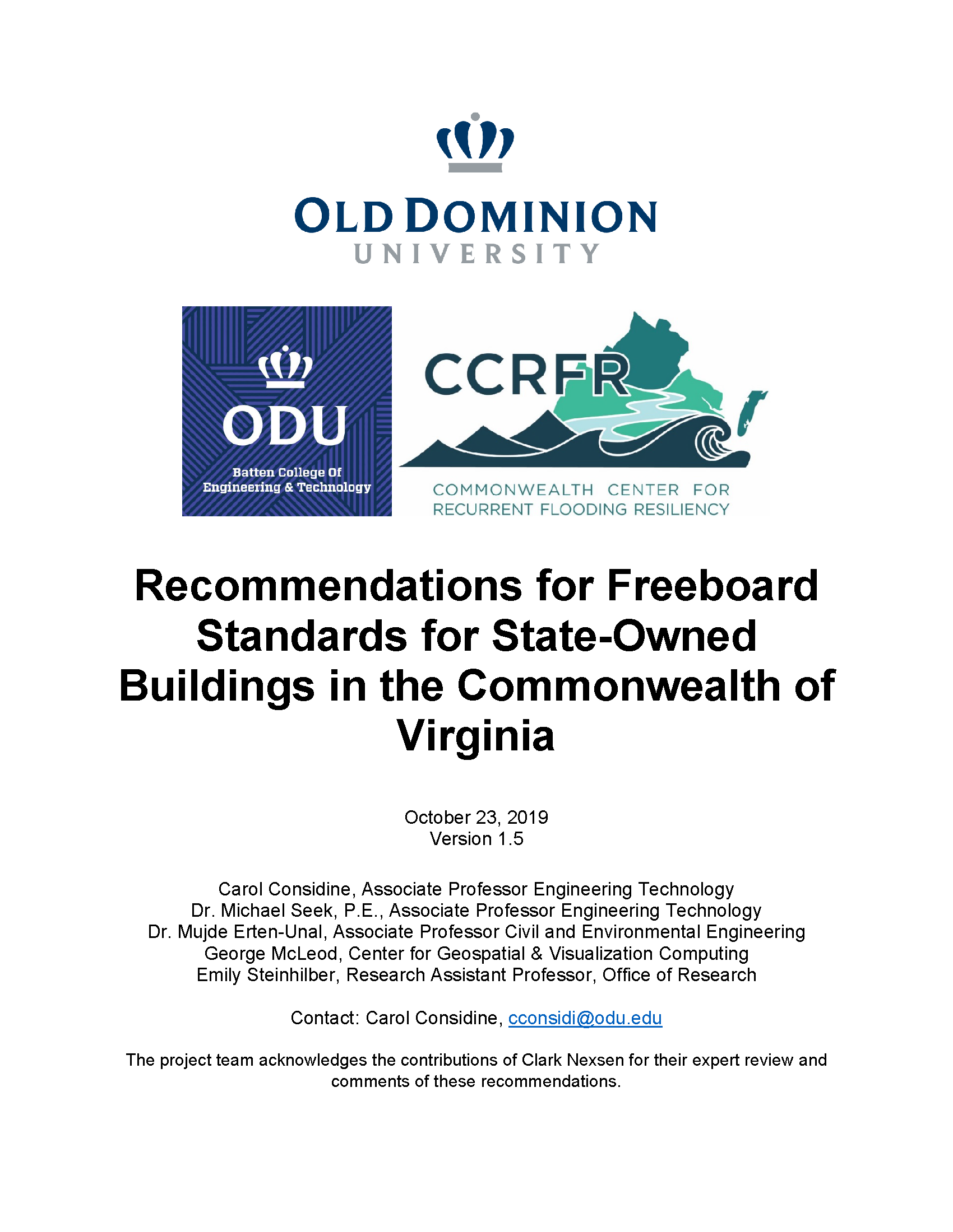 ODU Freeboard Recommendations Ver 1.5 10_23_19 w out WM 1