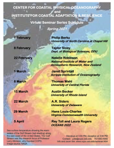 Spring 2021 CCPO & ICAR Virtual Seminar Series