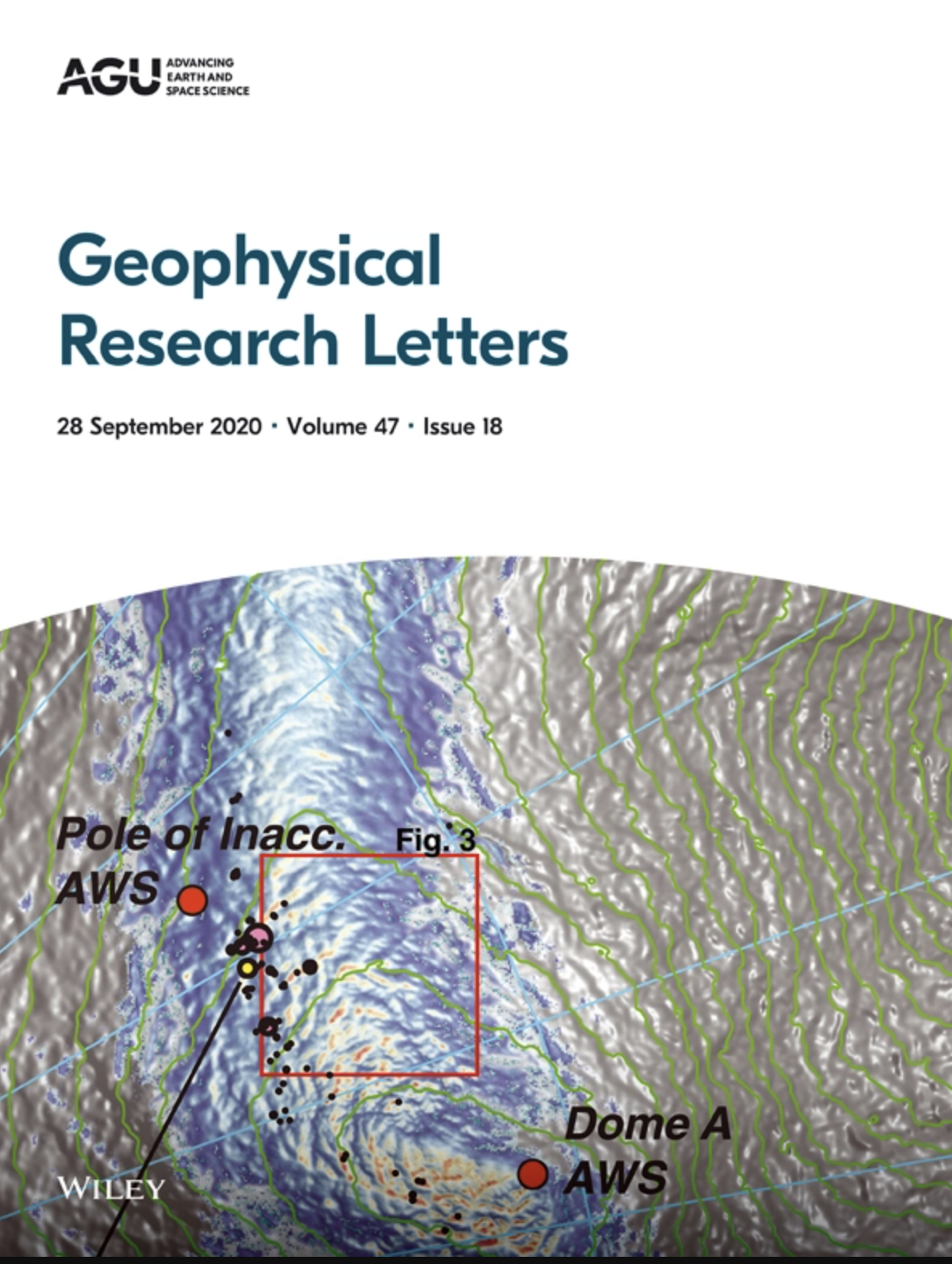 Geophysical Research Letters - cover